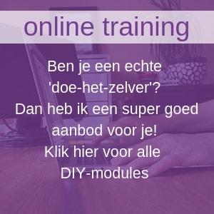 Alle modules van het jaartraject online volgen